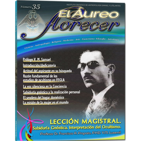 Revista 35 - El Aureo Florecer